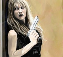Sarah Connor by endoftheline
