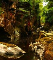 Inside The Faery Glen by Forestina-Fotos