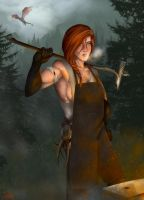 The Blacksmith's Daughter by The13thBlackCat
