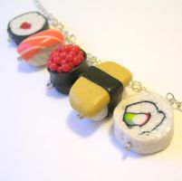 Sushi Necklace Deux by SupernovaDesigns