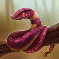 DAY 149. Ekans (30 Minutes) by Cryptid-Creations