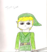 Toon link by T400naruto