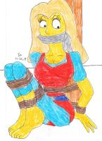 WCB ALL GROWN UP Erin the Simpsons by Godzilla713