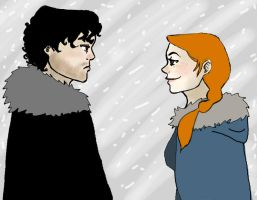 You know nothing, Jon Snow. by MadoMagie