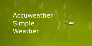 Simple weather 2 by Fugal
