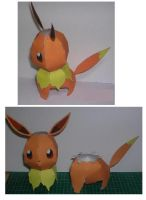 Finished Evee by paperart