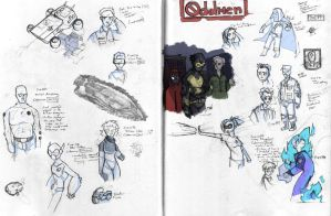oddmen doodles by mitch-the-plaid