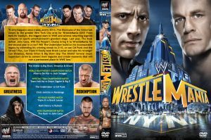 WWE WrestleMania 29 DVD Cover V4 by Chirantha
