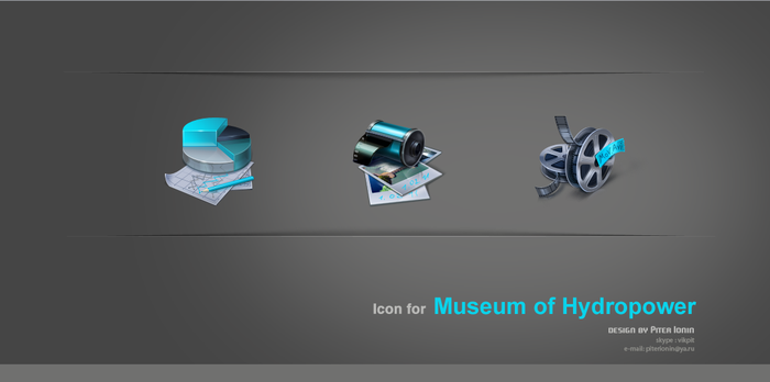 Icons for museim by Deedman
