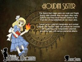 Blue Frontier: Houdini Sister by Alice13th