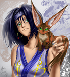 Kore and her Zoog by AphexAngel