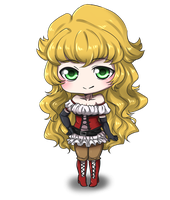 Chibi Commission: Camryn by haeunee2