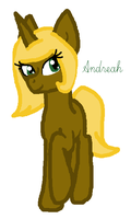 Andreah by Honey-PawStep