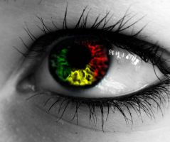 My Rasta Eye by KissOnTheRain
