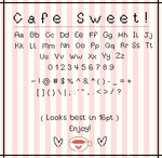 Cafe Sweet - Pixel Font by SUGARFRENZY