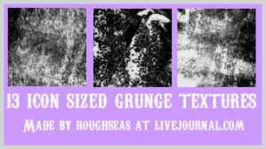 Grunge icon textures by roughseas