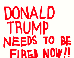 Anti-Donald Trump Sign #1 by MikeEddyAdmirer89