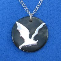 Darkest Night Pendant by harlewood
