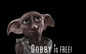 Dobby is FREE! (Wallpaper) by LovelyHufflePuff