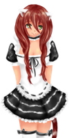 :CONTEST: Neko Maid by nikutsuki