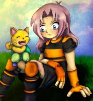 Look how strong I am coloured by windflame