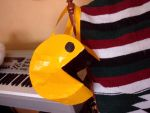 Pac Man Duct Tape Bag by SharpieObsessed