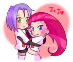 TR: Jessie + James by Abie05