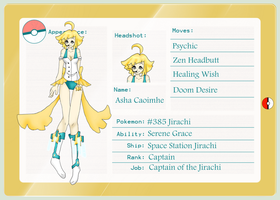 Jirachi Captain App by rayne-storme