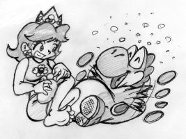 Yoshi Touch 'n' Giggle by RBM-Ink