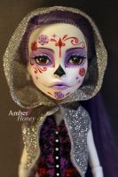 Sugar skull Spectra by Amber-Honey