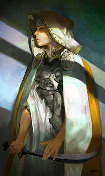 Holy Warrior by JenZee