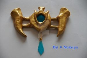 Princess Zelda TP waist belt 2 by Narayu-Crea