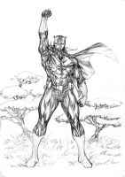 Black Panther conqueror by SpiderGuile