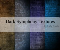 Dark Symphony Textures by LadyAmdis