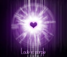 Love Is PURPLE by Tortured-Raven