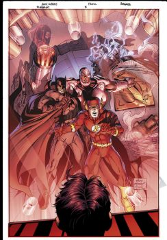 Flashpoint 3 Cover by sinccolor