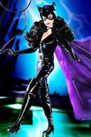 Catwoman Figure. by Taraloverofleather