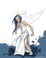 Dont mess up with blind angel by Arvenia