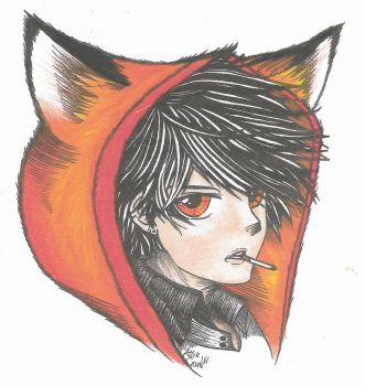 Fox hoodie by lifesimplyfrustrated