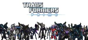 Transformers Prime Decepticons My Version by Connorgodzilla