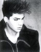 Adam Lambert Trespassing by mangafox23