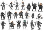 Space Pirates Sketches by AugustoRS