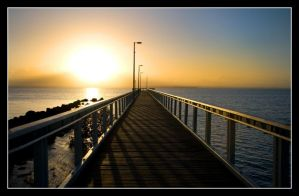 Dawn At Wellington Point by 2Stupid2Duck