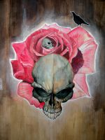 skulls painting by arty147
