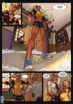 Making The Grade by female-muscle-comics