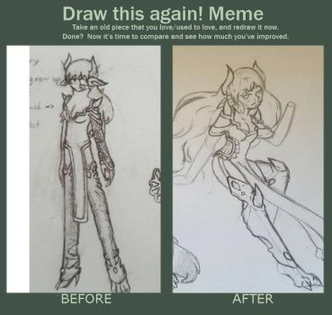 Draw This Again Meme by aka-hana