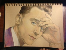 Tom Hiddleston #5 by TempestAdora