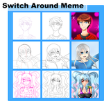 Switcharound meme by SugarYuyu