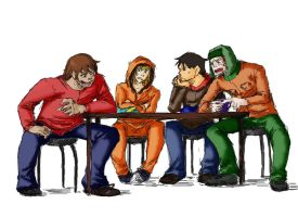 South park-Best friends by MICHELANGELO12