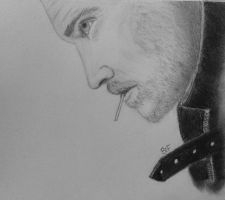 Actor: Tom Hiddleston drawing by B-Fix